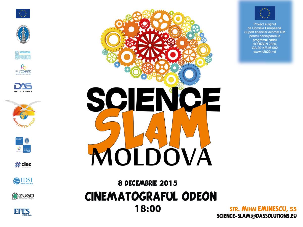 Science SLAM – Explicăm știința și inovația pe înțelesul tuturor