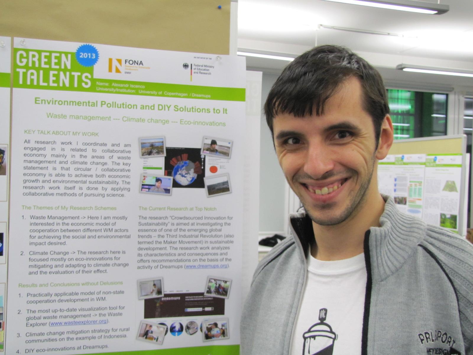 """Alexandr Iscenco: """"Science SLAM este un eveniment foare reușit pentru a aduce tinerii mai aproape de cercetări și inovații""""/ INTERVIU"""