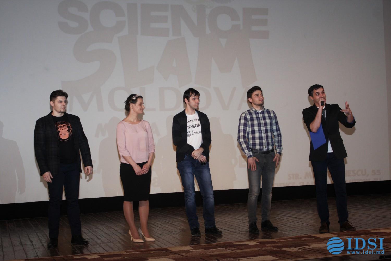Marea Finală Science SLAM Moldova a fost câștigată de cercetătoarea Iulia Iațco