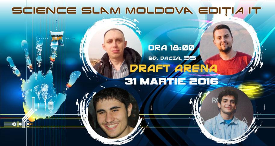 Ce proiecte IT vei descoperi la Science SLAM Moldova Ediția IT