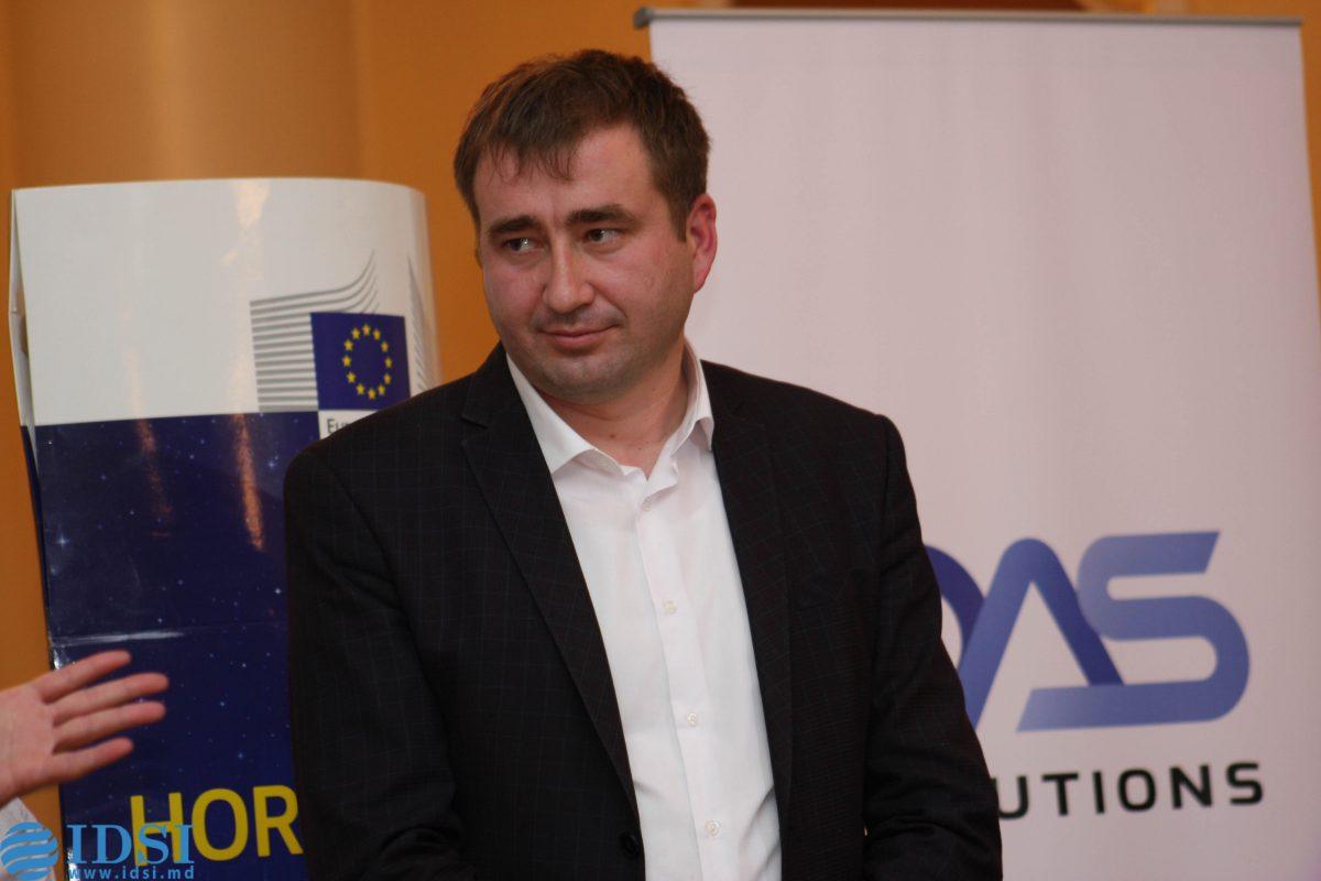 Denis Roșca, câștigătorul Science SLAM Moldova 7